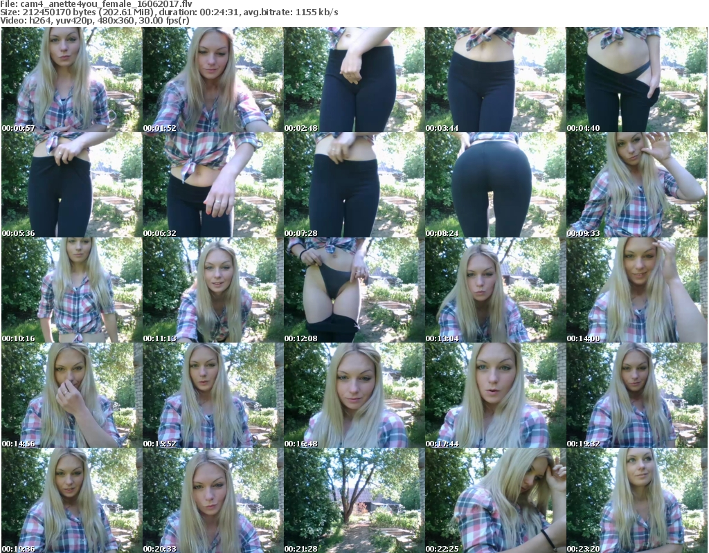 Download Or Stream File: cam4 anette4you 16 June 2017