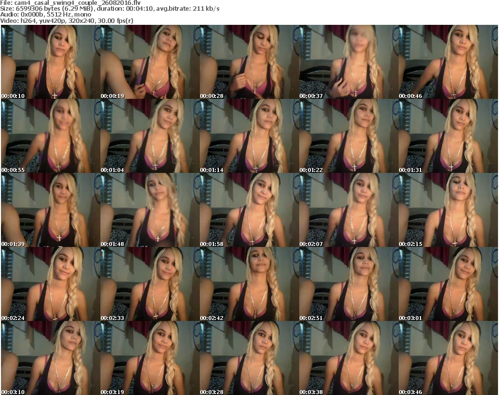 web cam 4 swing entre casal