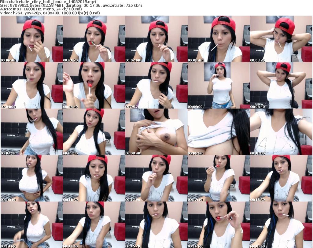 Niley hott cam show cb 12122016