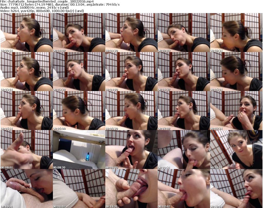 Webcam Couple Tied 110