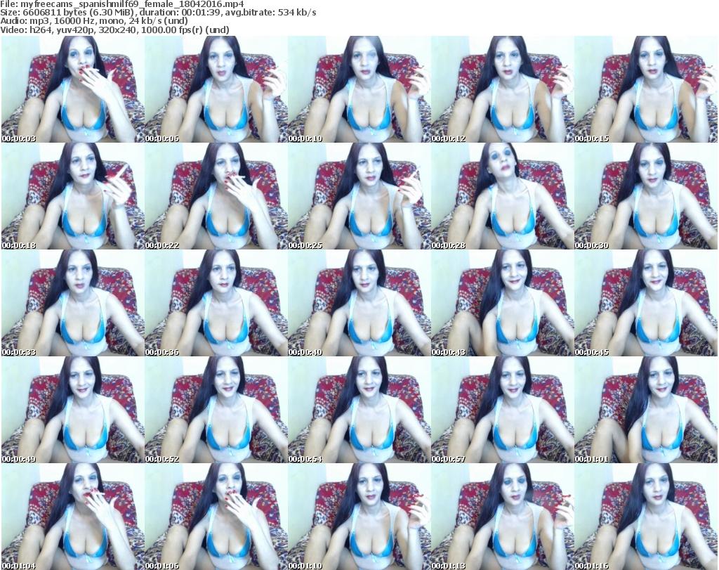 Spanish webcam milf
