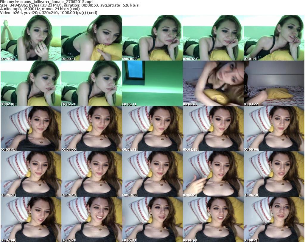 Webcam Archiver - Profile of Jollieann Cam Public Webcam